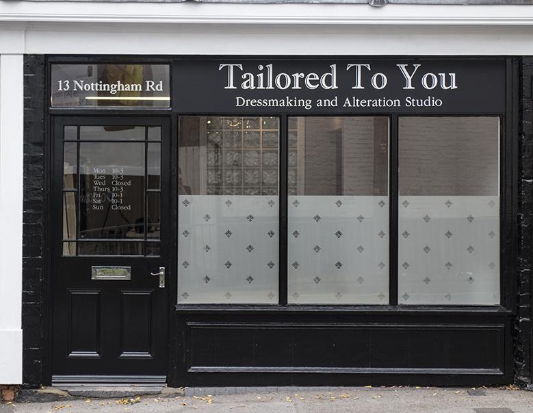 Tailored To You Dressmaker Nottingham Derby