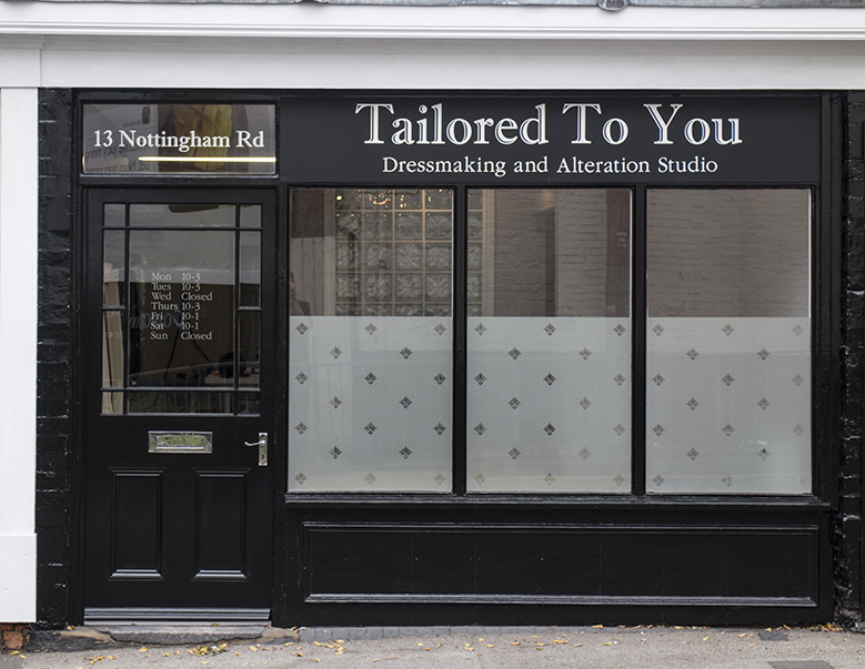 Tailored To You Dressmaker Nottingham Derby